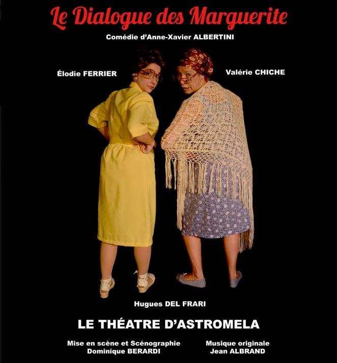 Affiche Dialogue des Marguerite