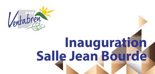 Inauguration Salle Jean Bourde