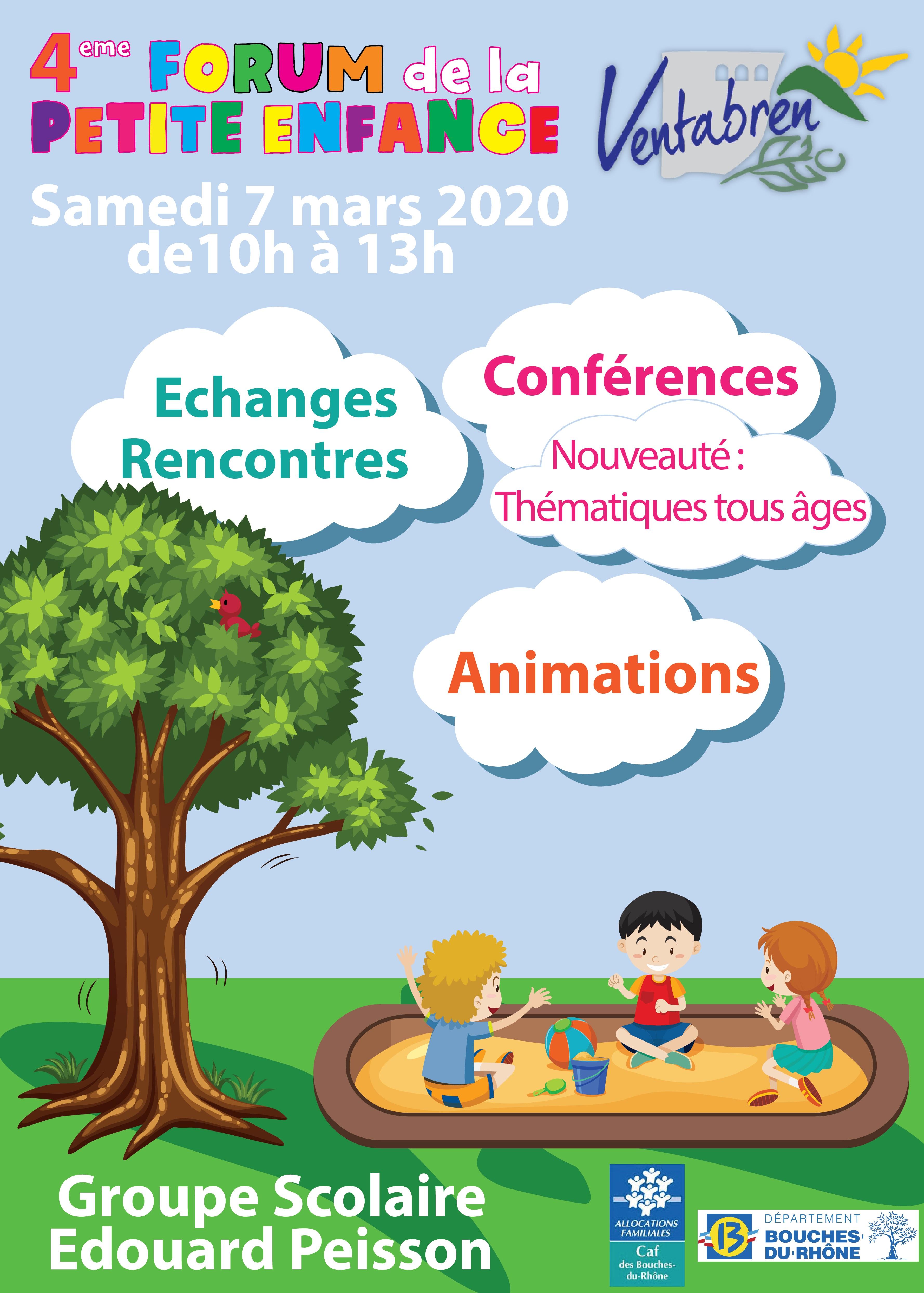 4e Forum de la Petite Enfance